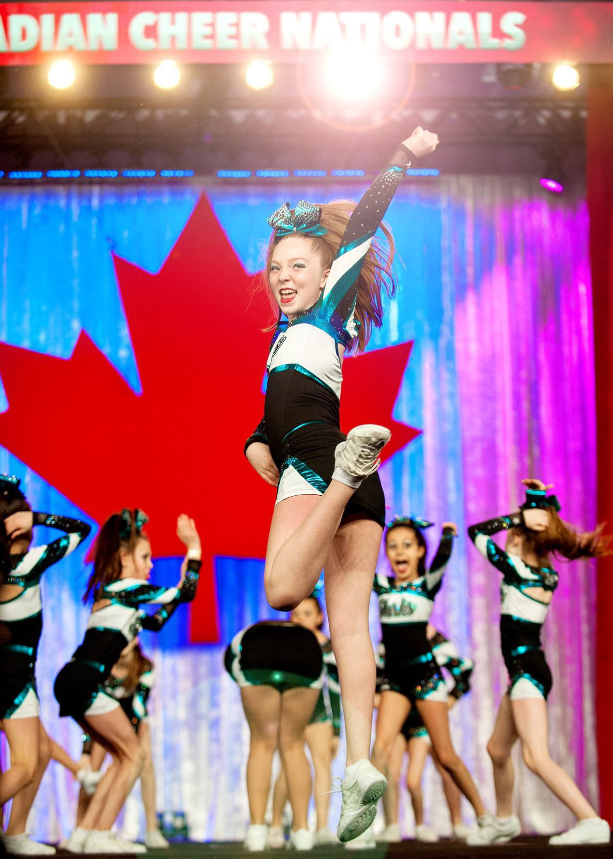 Cheer Sport Sharks Makenna