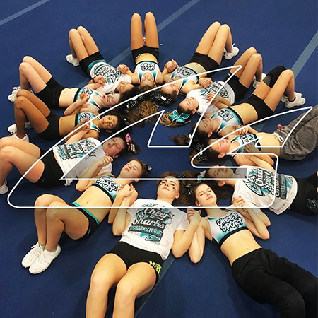 cheer team builds confidence teamwork
